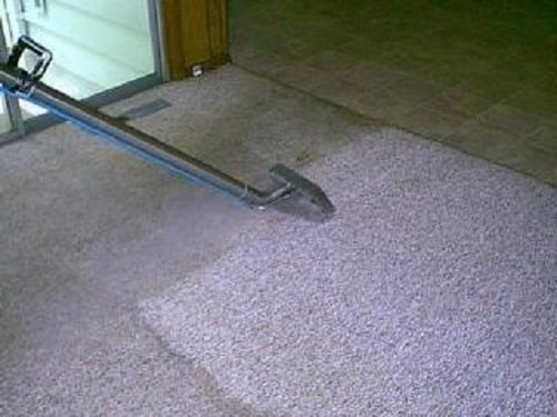 residential cleaning of carpets